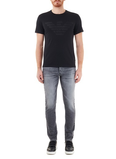 Emporio Armani  Slim Fit Pamuklu J75 Jeans Erkek Kot Pantolon S 6H1J75 1Du0Z 0007 Siyah